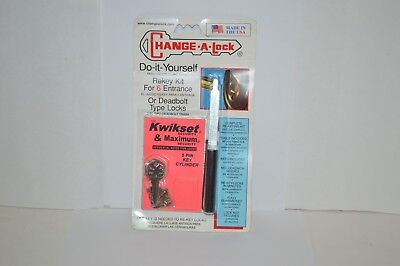 lock Kwikset rekey kit entrance or deadbolt locks