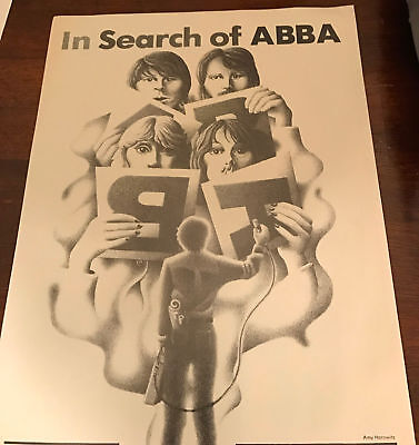 """3 Page 1979 Vintage 8X11 Print Magazine Article Clipping """"in Search Of Abba"""""""