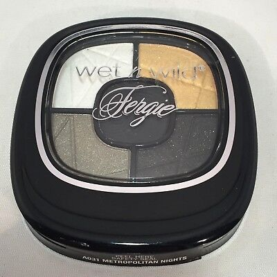 Wet n Wild Fergie Center Stage Eyeshadow Palette A031 METROPOLITAN NIGHTS New