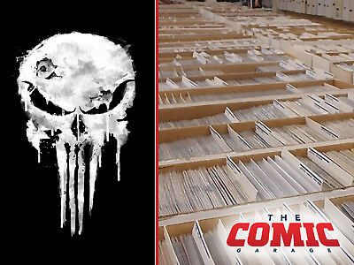 HUGE LOT OF 50+ PUNISHER COMICS Collection - No Duplicates - FREE SHIPPING