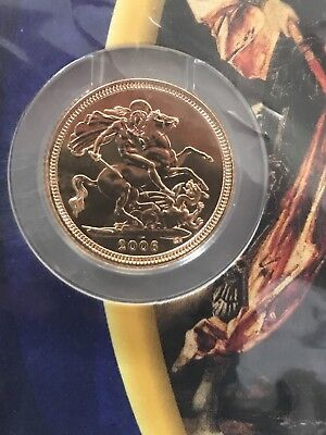 2006 United Kingdom Half Sovereign Gold Bullion Very Rare Sealed Uncirculated