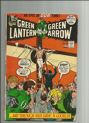 GREEN LANTERN  #89  VG+, Neal Adams art, Green Arrow, DC Comics 1972
