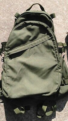 EAGLE INDUSTRIES LARGE A-III 3 DAY ASSAULT PACK OD GREEN BLACK ITW  SOF NSW lbt