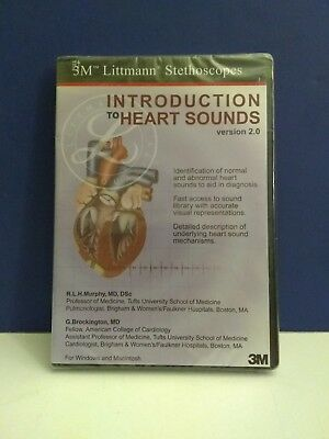 3M Littmann Introduction to Heart Sounds Educational CD, #5111 New #Z09