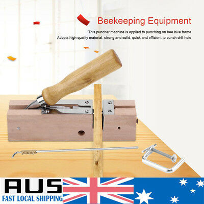 New Beekeeping Equipment Frame Eyelets Puncher Machine for Bee Combs Frames Tool