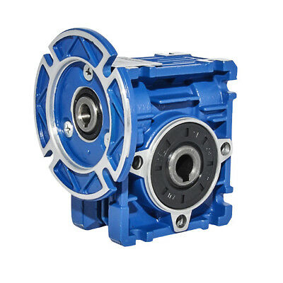 NMRV-025 Worm Gear Speed Reducer Reduction Gearbox 1:7.5 - 1:60 Ratio Gear Box