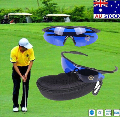 AU Golfer Golf Ball Finder Hunter Glasses Outdoor Sport Sunglasses with Box