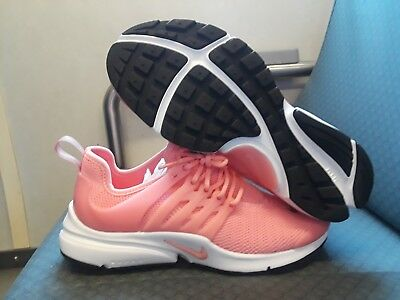 timeless design e740e 1b13b Nike Women s Air Presto Pink white Athletic Sneaker 878068-802 Size  10