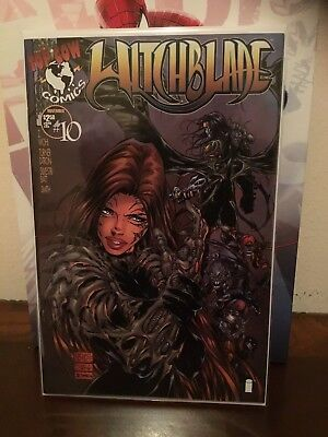 Witchblade #10 VF 1st Darkness Hot Book