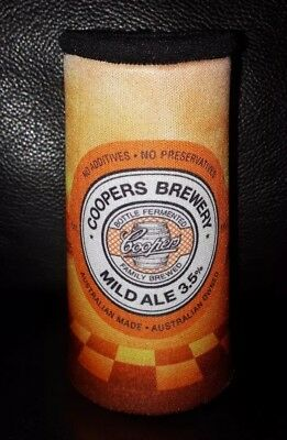 Rare Collectable  V8 Supercars Coopers Mild Ale Beer Stubby Holder Brand New