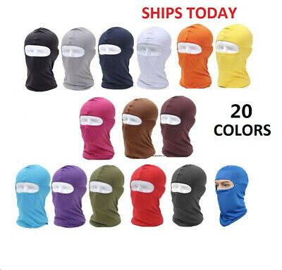 Outdoor Ski Cycling Balaclava Spandex Sports Full Face Mask Neck Hat Cover