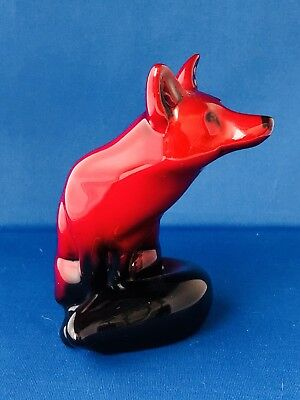 Royal Doulton Flambe Fox