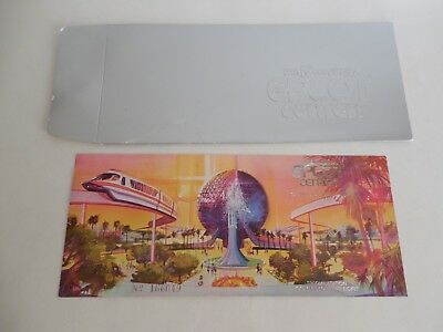 1981 Epcot Center Opening Commemorative Ticket Walt Disney World