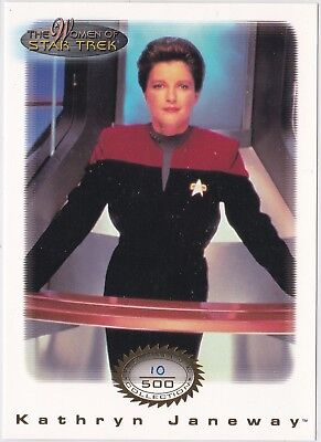 Star Trek Women Of Star Trek In Motion Archive Collection Gold 2 Janeway 10/500