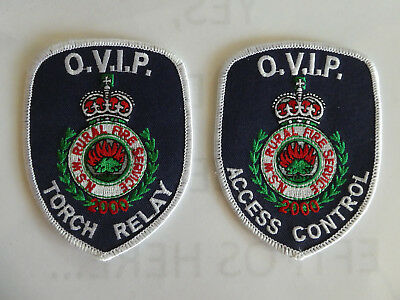 NSW Rural Fire Service patches