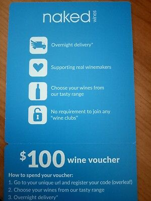 $100 Naked Wines Voucher