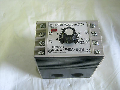Omron K2CU-F40A-EGS Heater Fault Detector Made in Japan!  Nice!!