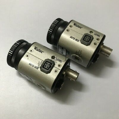 WATEC WAT-250D2 CCD Camera used and tested  1PCS