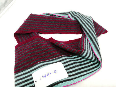 Mongolia Pure Cashmere Wool Handmade Kids Scarf Baby Children 104cm long -A18