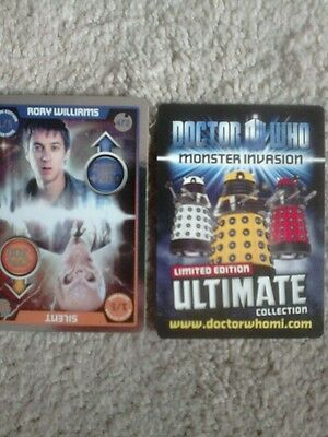 Dr who monster invasion ultimate card 472 Rory Williams / Silent