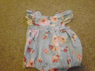 Baby girls all in one/romper age 6-9 months