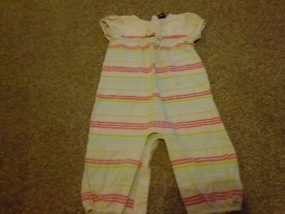 Lovely baby girls all in one/romper age 9-12 months from Ted Baker