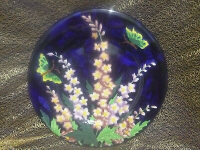 "Maling ""Delphinium"" Charger Plate (c1932) - Pattern 6062"