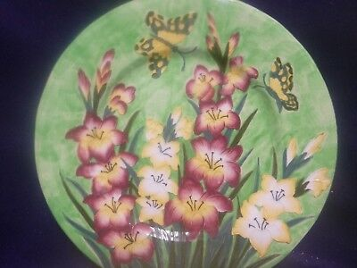 "Maling ""Gladioli"" Charger Plate (c1937)"