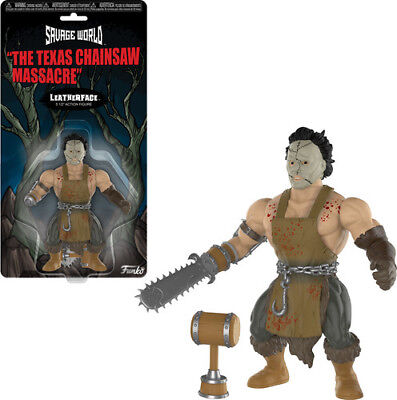 Texes Chainsaw Massacre - Leatherface - Funko Savage World (2018, Toy NUEVO)