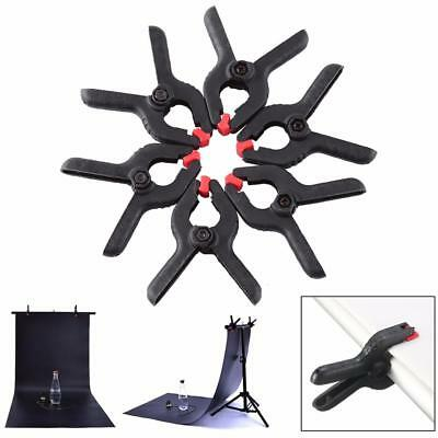 6x Backdrop Clamps Clips for Photo Studio Photographic Background Stand Light
