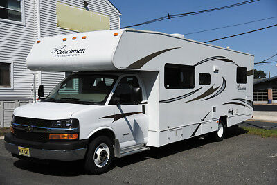 Class C RV 2014 Coachmen Freelander 28QB LTD, Power Awning.12V TV, Rev monitor.