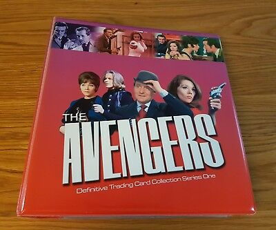 The Avengers Definitive Series 1 Master Set Trading Cards (all Autos, Costume)