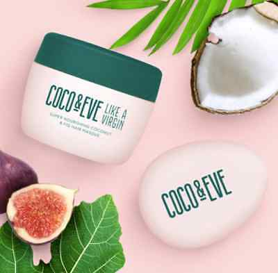 Coco & Eve Nourishing Coconut and Fig Hair Masque & tangle tamer Christmas Gift
