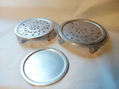 Aluminium Steamer Rack Inserts Steaming Tray Stands Steam Cooking Pan Inserts