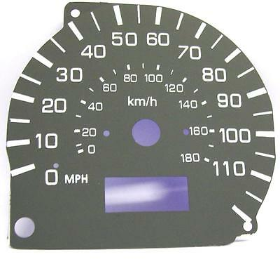 Imported Cars Kmh To Mph Speedo Dial Conversion Mitsubishi