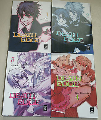 Death Edge (Kairi Shimotsuki) Manga Band 1-4