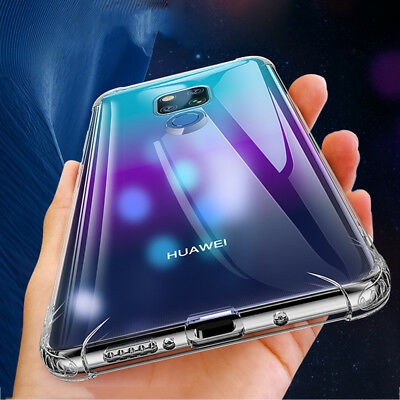 Thin Clear Shockproof Silicone Case for Huawei Mate 20 Pro/Lite Nova 3i/8X Cover