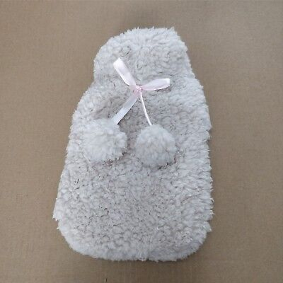 Small Fluffy Hot Water Bottle Cover And Hot Water Bottle