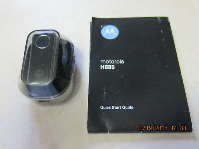Used: Bluetooth Headset Motorola H685 with SPN5435A Charging Base w/o cord