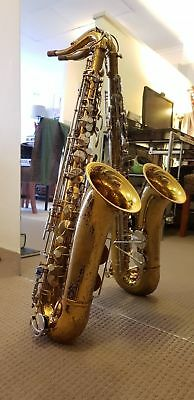 King Cleveland 615 tenor saxophone made in USA vintage NO RESERVE