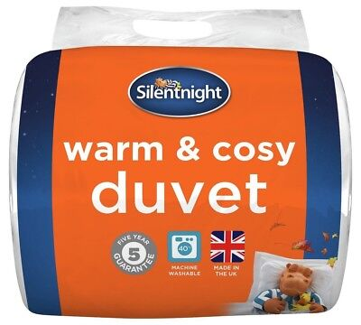 Silentnight Warm and Cosy 15 Tog Duvet - Single.