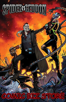 Spider-Geddon #2 (Of 5) (2018) 1St Printing Molina Cover Bagged & Boarded Marvel