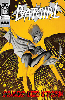 Batgirl #28 (2018) 1St Printing Tedesco Foil Cover Dc Universe Bagged & Boarded