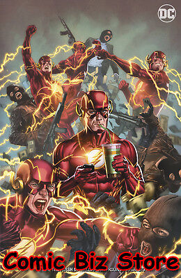 Flash #57 (2018) 1St Printing Porter Variant Cover Dc Uni Bagged & Boarded