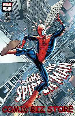 Amazing Spider-Man #8 (2018) 1St Print Ramos Main Cover Bagged & Boarded Marvel