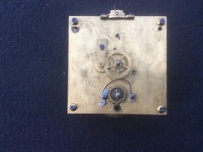 Original vintage ship's clock movement