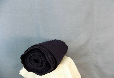 Antique RareTraditional Folk Felt Fabric from Bulgaria. Its colour is dark blue.