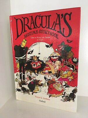 Dracula's Bedtime Storybook: Victor Ambrus SCARCE RRP$230 HB 1st ED Out Of Print