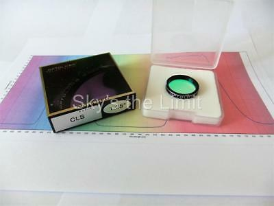 """SPECIAL - Optolong 1.25"""" CLS Light Pollution Premium HT filter with data - 1"""