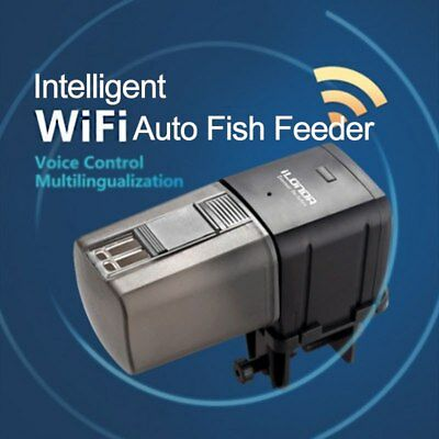 Wifi Wireless Intelligent Remote Control Food Dispenser Aquarium Fish Feeder